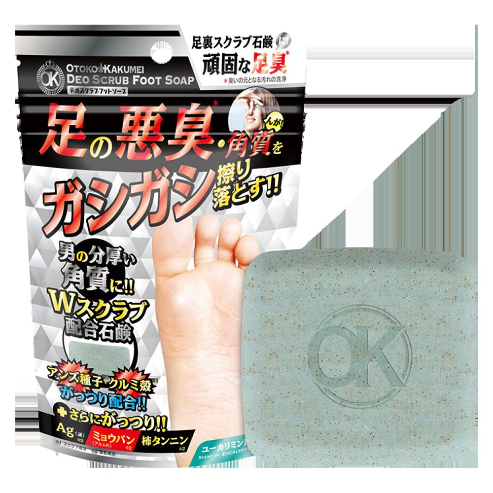 OK DEO SCRUB FOOT SOAP